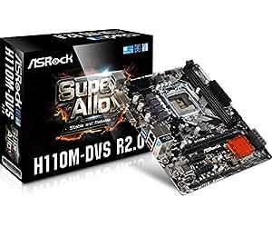 ASRock Intel H110搭載 Micro ATXマザーボード H110M-DVS R2.0