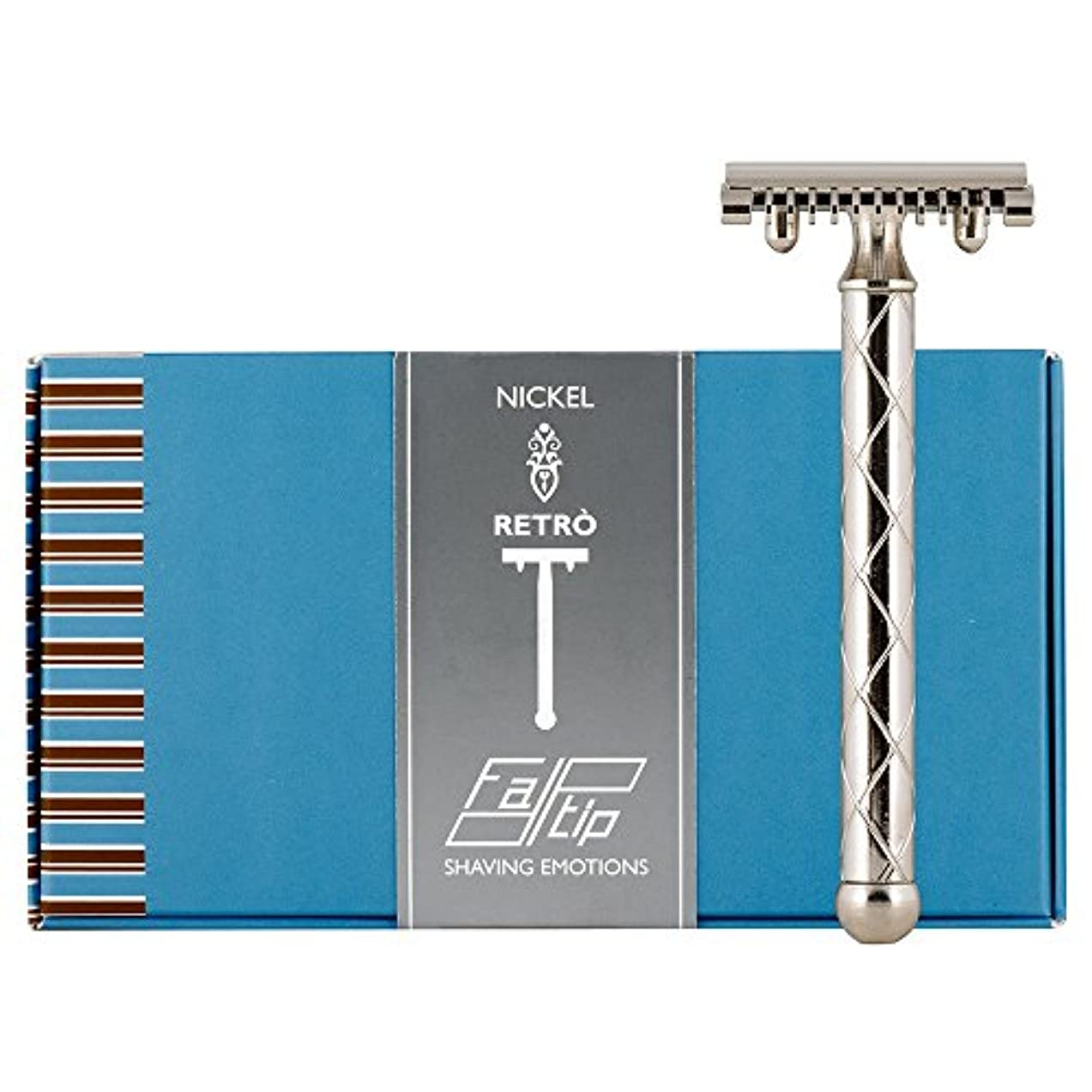 達成する重々しい堤防Fatip Retro Double Edge Safety Razor - Nickel Plated by Fatip