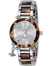 [ヴィヴィアン・ウエストウッド]VivienneWestwood 腕時計 オーヴ シルバー文字盤 VV006SLBR レディース 【並行輸入品】