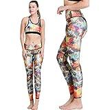 Abundant Life Premium Quality Yoga Pants Matching Two-Piece Set: Sport Bra Top and Tight Bottoms
