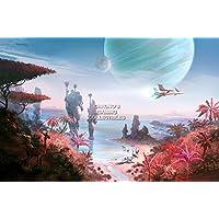 "CGC Hugeポスター光沢仕上げ–No man 's Sky ps4–ext527 16"" x 24"" (41cm x 61cm)"