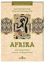 Geschenkpapier Afrika: zehn Afrika-Motive exklusiv von Kuenstlerhand
