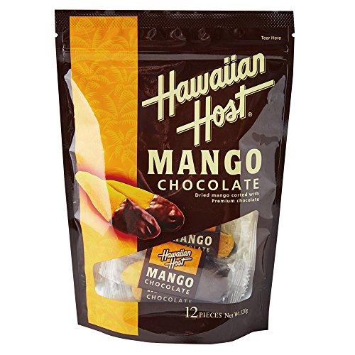 ハワイお土産 ハワイアンホースト ドライマンゴーチョコレート 1袋