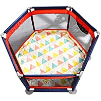 赤ちゃんのプレイペンポータブル折りたたみ可能な子供のプレイペン6パネルキッズアクティビティセンターPlaypen (色 : Style4)