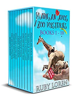 Madigan Amos Zoo Mysteries: Books 1 - 10 (Madigan Amos Zoo Mysteries Boxset) by [Loren, Ruby]