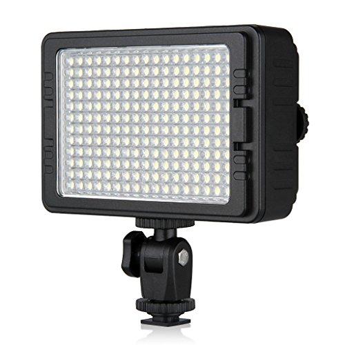 Craphy C-204 撮影ライト 204球 LED ビデオライト 1200ルーメン 5600K Nikon Canon デジタル一眼レフ ビデオカメラ対応