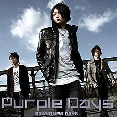 Purple Days「BRANDNEW DAYS」のジャケット画像