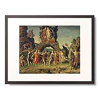 アンドレア・マンテーニャ Andrea Mantegna 「パルナッソス・マルスとヴィーナス」 額装アート作品