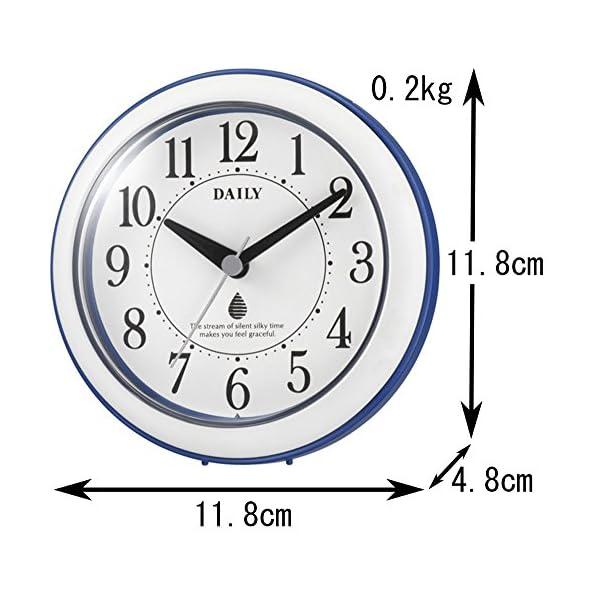 リズム時計 DAILY 掛け時計 防滴防塵 ア...の紹介画像8
