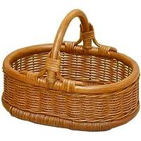 籐 かご 収納 バスケット M-063