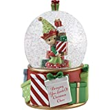 Precious Moments Bringing You Loads of Christmas Cheer Elf Snow Globe