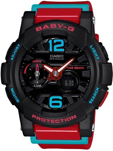 カシオ CASIO 腕時計 BABY-G タイドグラフ搭載 G-LIDE BGA-180-4BJF レディース