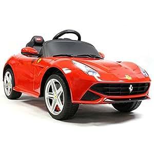 フェラーリF12ベルリネッタ 電動乗用車 レッド