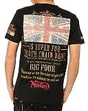 NORTON(ノートン) ユニオンジャック Tシャツ (ブラック・サイズS)