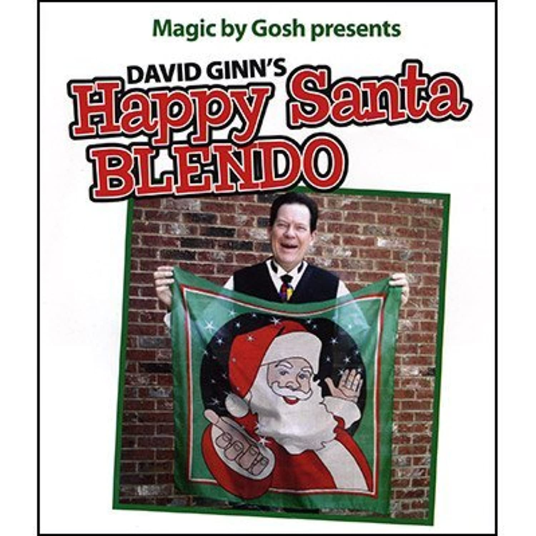 Happy Santa Blendo Set (36 inches)by David Ginn - Trick By Magic By Gosh [並行輸入品]