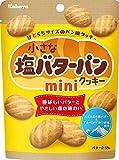 カバヤ食品 小さな塩バターパンクッキー ミニ 35g×6袋