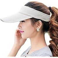 Fasbys Women Sun Visors Long Brim Thicker Sweatband Adjustable Hat Outdoors