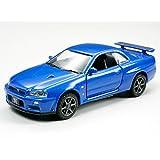 タミヤ 1/64 コレクターズクラブ No.18 ニッサン スカイライン GT-R VスペックII R34 ダイキャスト完成モデル 23718
