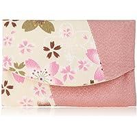 ユーアイ 和雑貨 ティッシュケース 中割ティッシュ 賑桜 生成