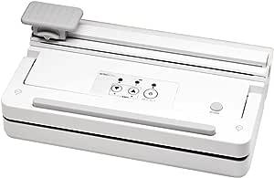 CCP 【BONABONAシリーズ】 真空パック器 セミプロタイプ <ロールカッター付き> ホワイト BZ-V34-WH