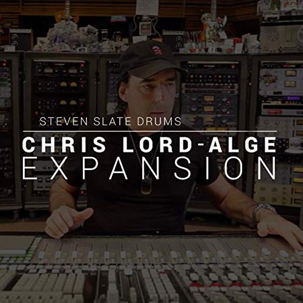 長椅子オーストラリア原告【国内正規品】STEVEN SLATE DRUMS Chris Lord-Alge EXPANSION (SSD5専用拡張音源:簡易パッケージ版)