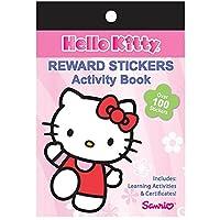Hello Kitty Reward Sticker Activity Book ハローキティの特典ステッカーアクティビティブック♪ハロウィン♪クリスマス♪