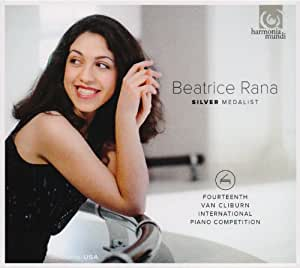 第14回 ヴァン・クライバーン国際ピアノ・コンクール・ライヴ ~ 銀賞&聴衆賞 : ベアトリーチェ・ラナ (Beatrice Rana ~ Silver Medalist : Fourteenth Van Cliburn International Piano Competition) [輸入盤]