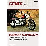 クライマーRepair Manual for Harley FX / FL / FLSTNソフテイル84–99