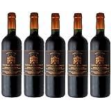 赤ワイン シャトー・フレイノー・ボルドー・シュペリウール 神の雫 (750ml × 5本)