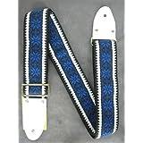 Montreux Retrovibe Strap 1969 Blue (white tab)