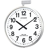 CITIZEN (シチズン) 掛け時計 パルウエーブ M611B 大型 掛け時計 (屋外 用) 4MY611-B19
