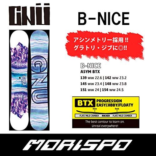 GNU グヌー B-NICE ビーナイス 16-17 145 DOTS
