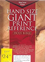 Cornerstone Giant Print Reference Bible: Red Leather (King James Version)