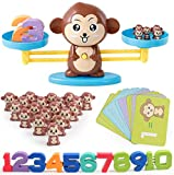猿 すうじてんびん 天秤 知育玩具 重さ 数 数字 計算 算数 学習 てんびん 子供 キッズ 足し算 引き算 バランスゲーム 子ども 幼児 知育 おもちゃ オモチャ 玩具 幼稚園 教具