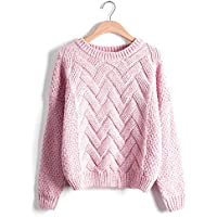 Sweaters and Pullovers Autumn Wintert Solid Slim O Neck Long Sleeve Sweaters Warm Coats