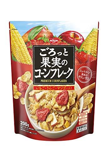 日清シスコ ごろっと果実のコーンフレーク 芳醇チョコ仕立ての通販の画像