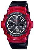 [カシオ] 腕時計 ジーショック 電波ソーラー AWG-M100SRB-4AJF メンズ ブラック