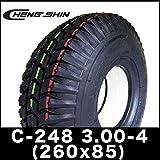 CHENG SHIN製 福祉 電動カートセニアカー ノーパンクタイヤ C-248 3.00-4 (260x85)