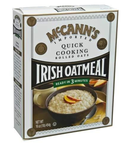 McCann's Quick Cooking Rolled Oats Irish Oatmeal マッキャンズクイッククッキングロールオーツアイリッシュオートミール450g [並行輸入品]