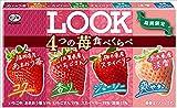 不二家 ルック(4つの苺食べくらべ) 12粒 ×10個