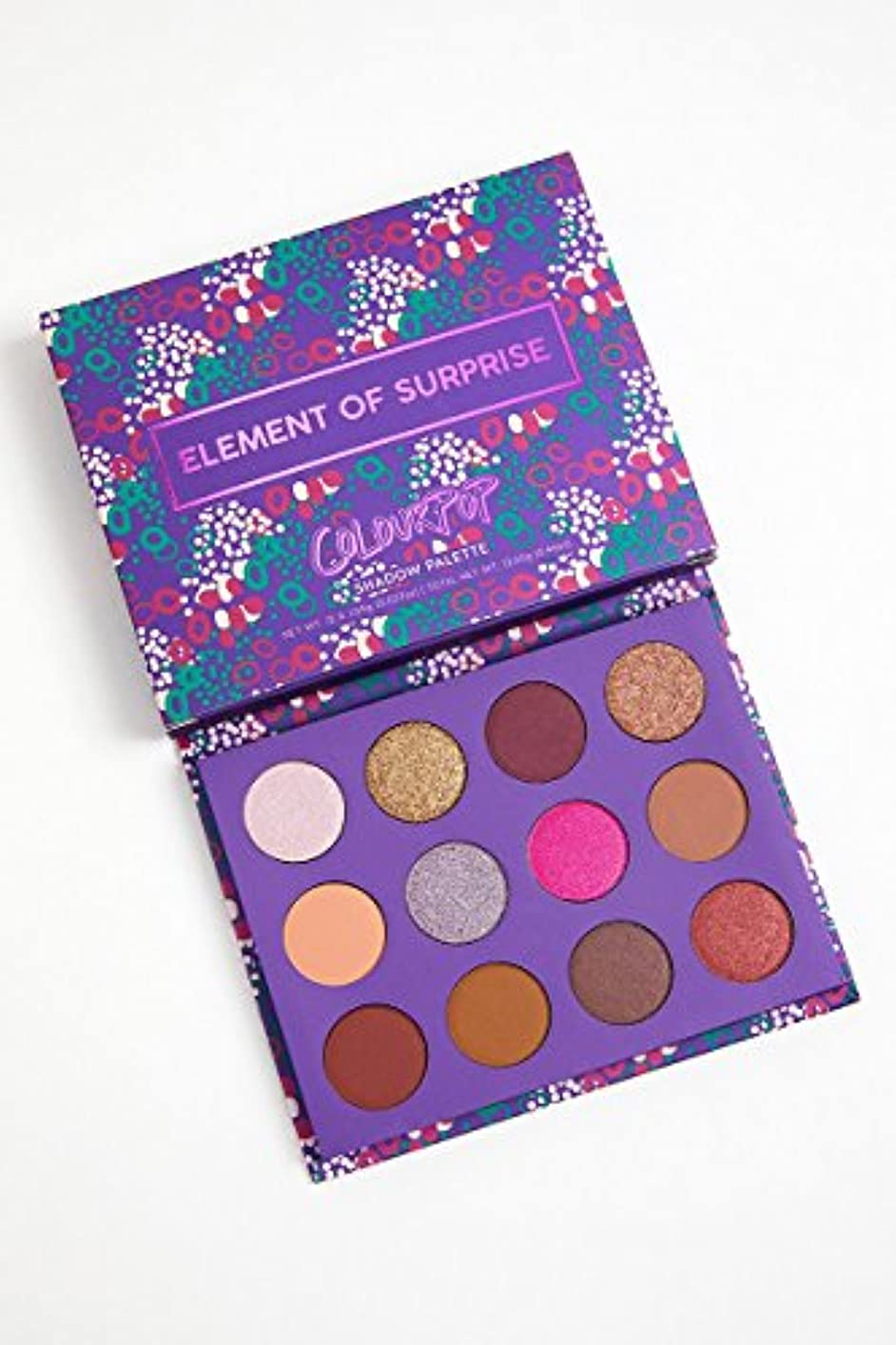 ラッドヤードキップリングフルーツひばりColourPop - Pressed Powder Shadow Palette - Element of Surprise