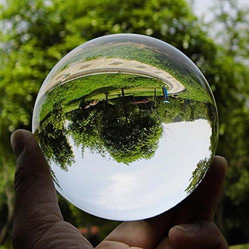 Hommy クリスタルゆえの透明な世界! クリスタル クリア ボール 30mm オリジナル