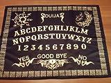ウィジャボード祭壇布ブラック - ゴールド
