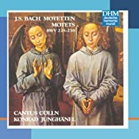 Bach Motets by CANTUS COLLN (1997-08-12)