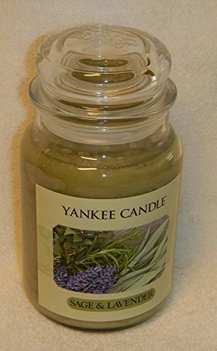 修正するソーセージ製造セージ&ラベンダーYankee Candle Large 22-oz Jar