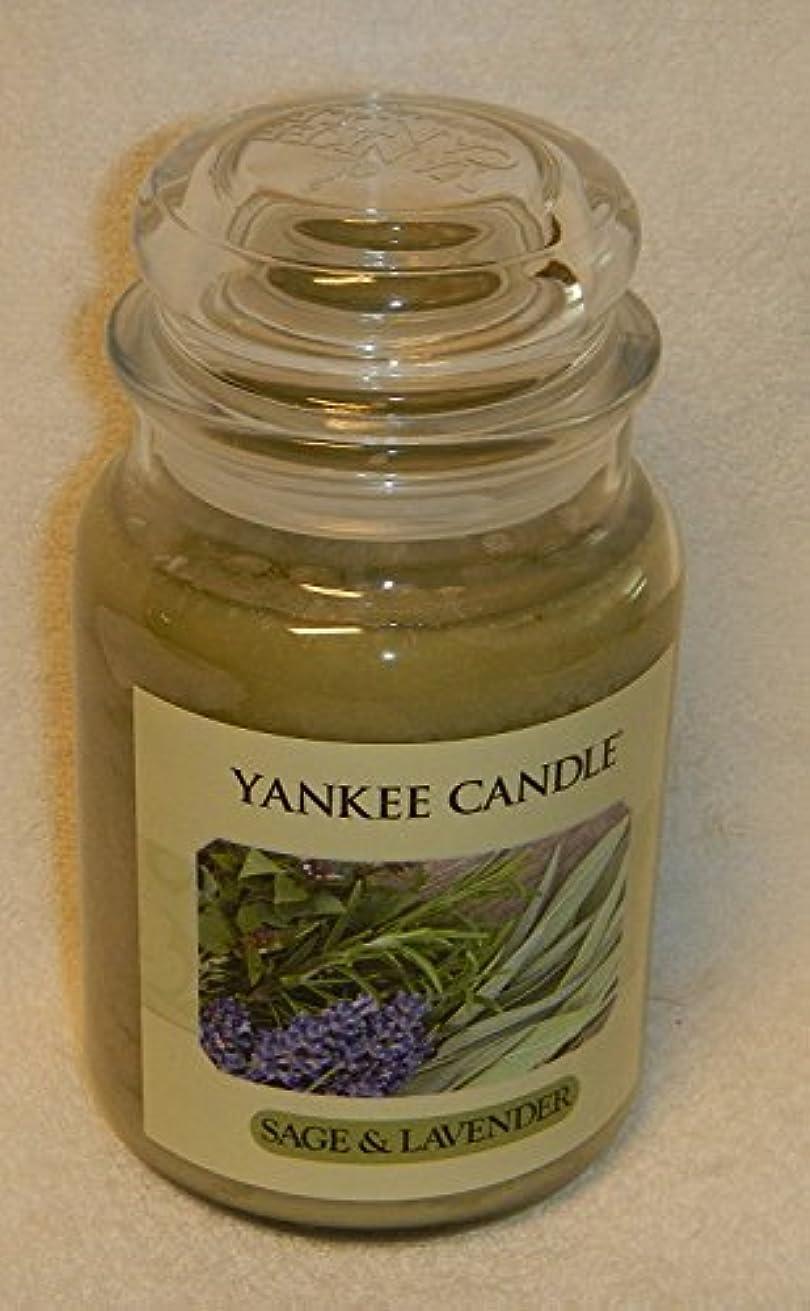 配分格納ソースセージ&ラベンダーYankee Candle Large 22-oz Jar