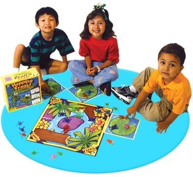 Hopping Frogs Vocabulary & Fluency Board Game - Super Duper Educational Learning Toy for Kids