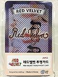 Red Velvet (レッドベルベット)/透明フォトカード - TRANSPARENT CARD 25枚セット(K-POP/韓国製)