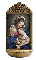 メアリー聖母と子Holy Waterフォント–- Marco Sevelli–yc914