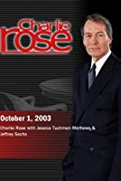 Charlie Rose (October 1 2003)【DVD】 [並行輸入品]